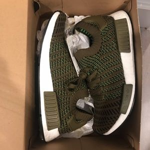 Adidas stlt nmd olive trace green new Sz 8,10,11